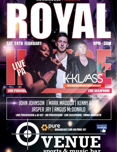 Royal House Presents K Klass