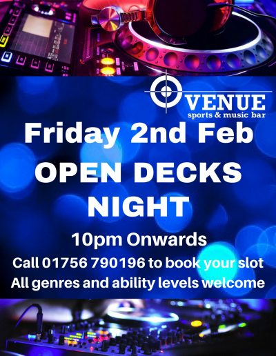 Open Decks Night