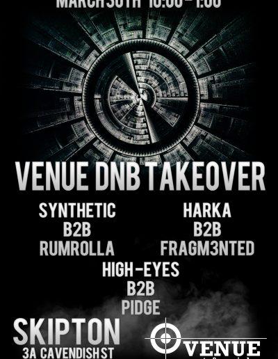 Venue dnb take over