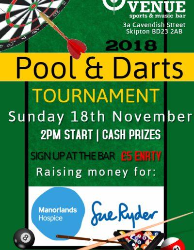 Pool & Darts Poster