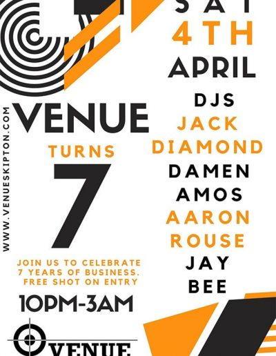 Venue Birthday Poster